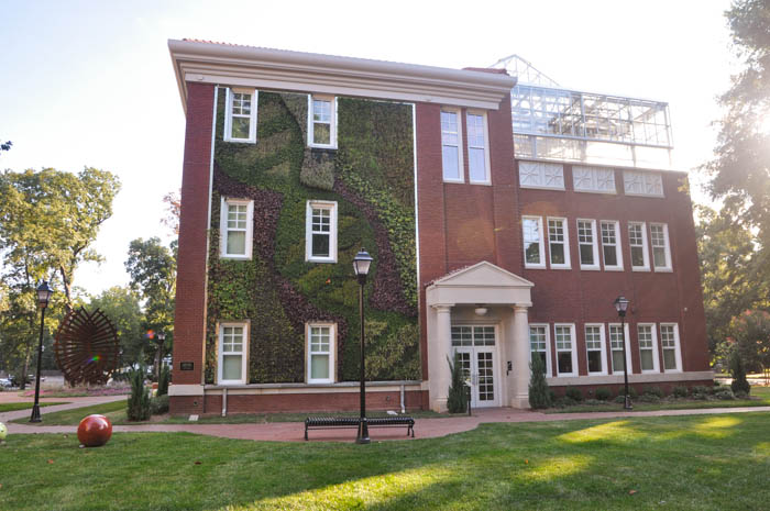 Queen's University Living Wall Charlotte