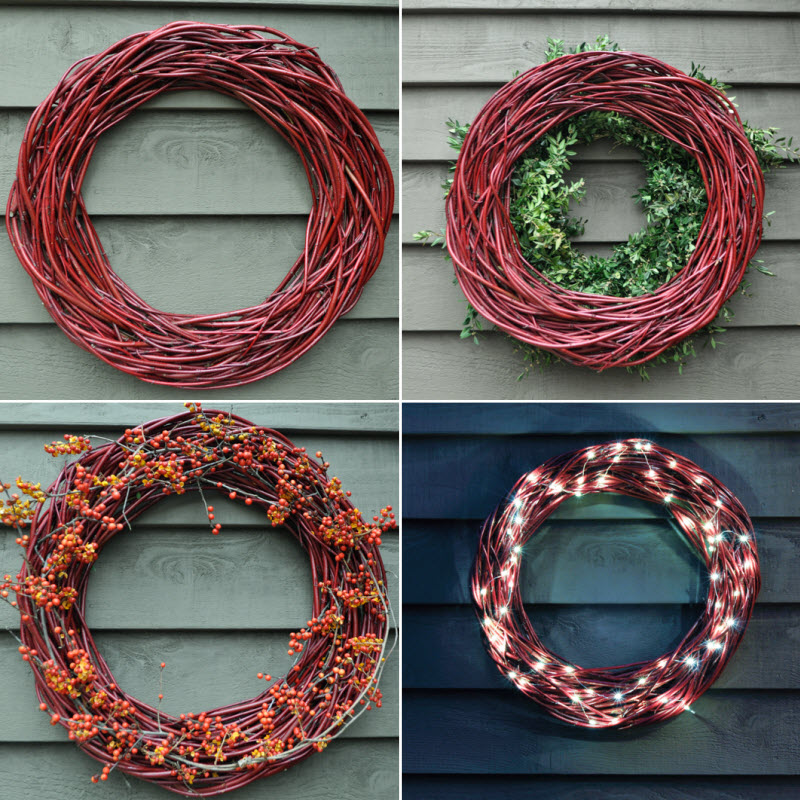Red Twig Farms- Twig Wreath, Thinking Outside the Boxwood