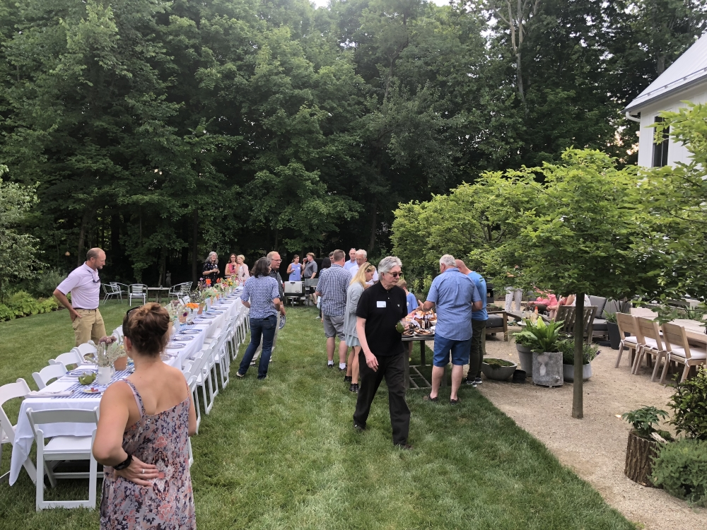 Cultivate 18 garden party with APLD Ohio members and horticulture leaders in Columbus Ohio.