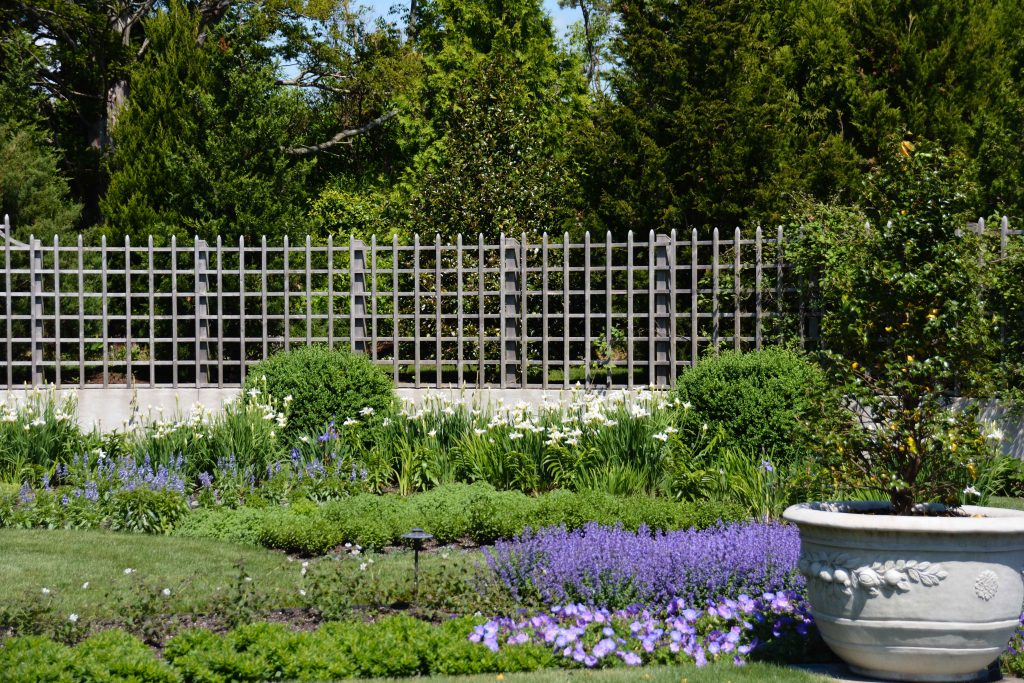 The Blue Garden - Newport, RI Garden Tour from Thinking Outside the Boxwood