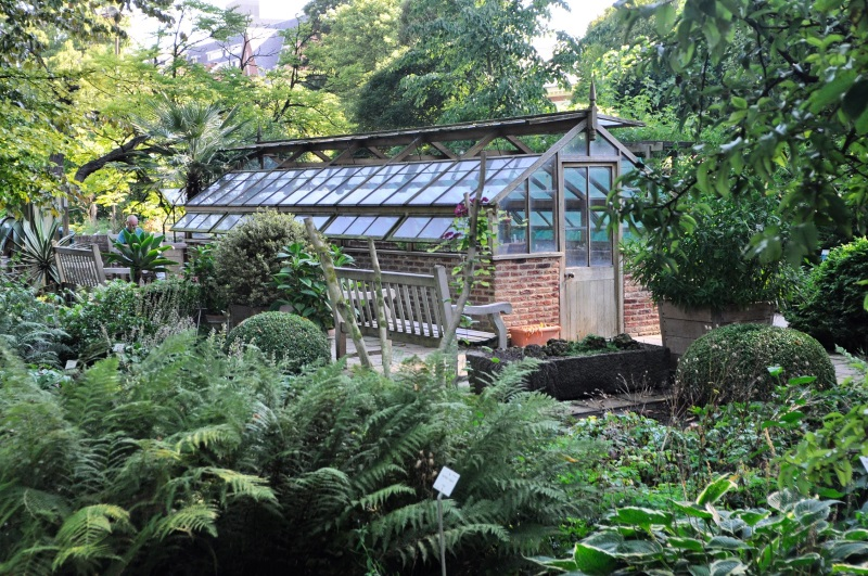 Auxiliary garden buildings inspiration - Private Greenhouse outside Boston - More buildings at Thinkingoutsidetheboxwood.com