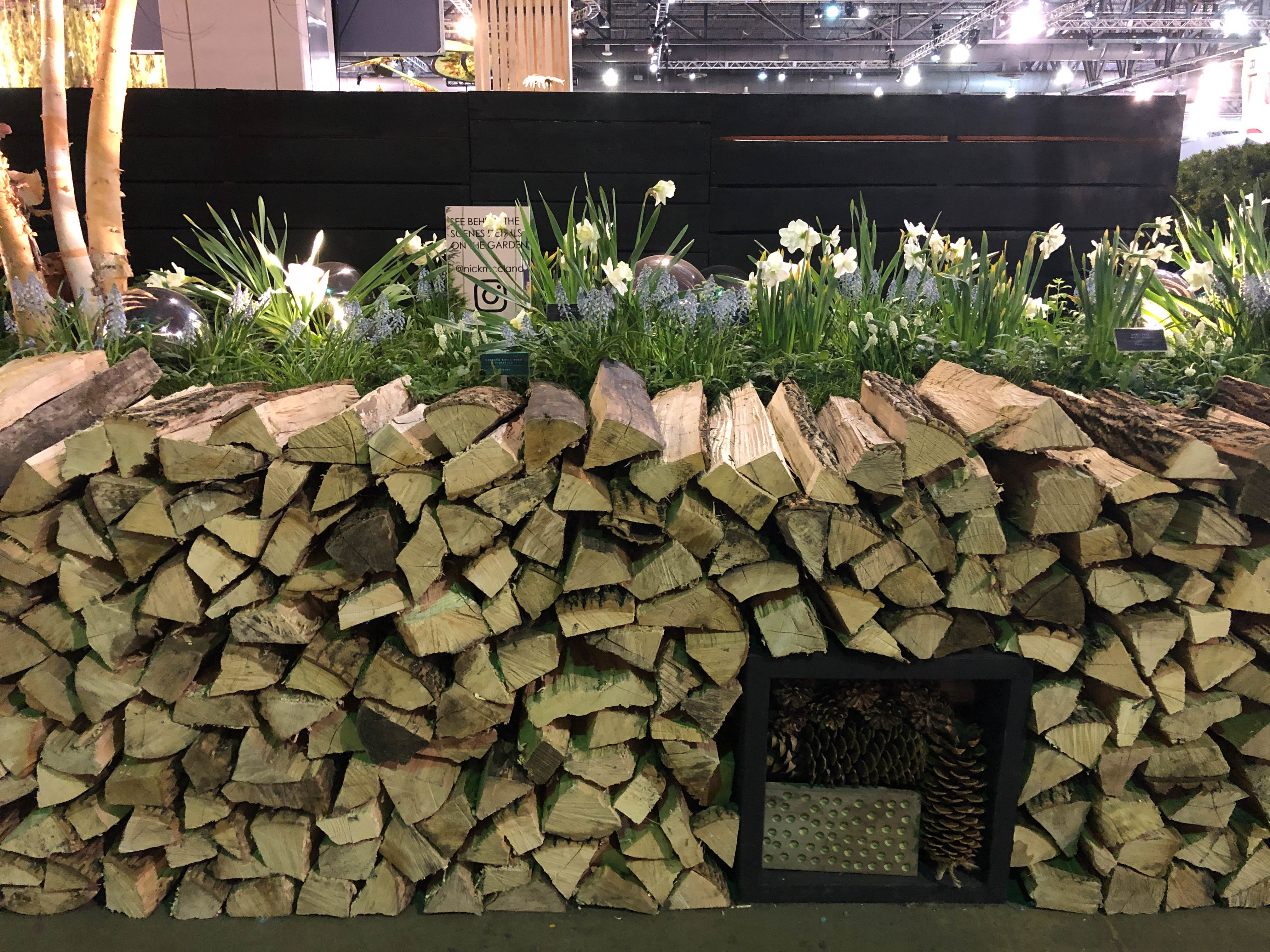 Behind the Design - Installing the Philadelphia Flower Show. Nick McCullough, McCullough's Landscape & Nursery