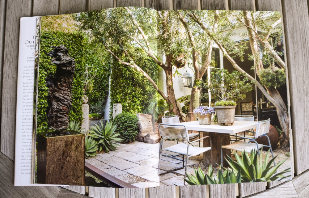 The Art of Outdoor Living by Scott Shrader. Book Review from Thinking Outside the Boxwood.