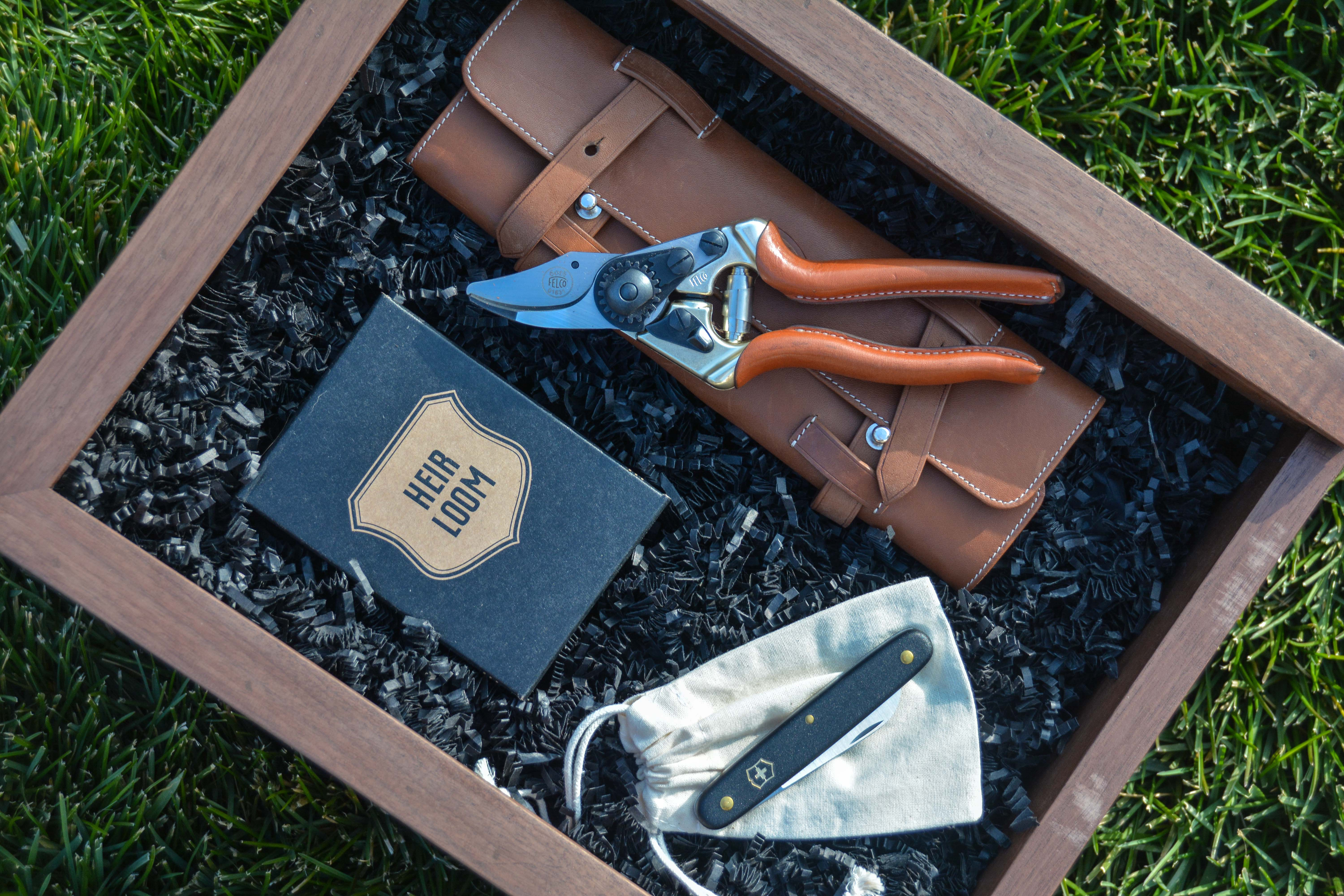 The Well-Appointed Gardener Curated Gift Box from Thinking Outside the Boxwood. The Gardener's Holiday gift guide