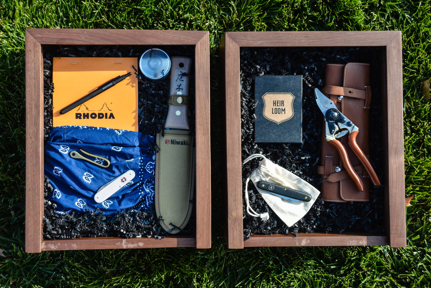 Curated Gift Boxes from Thinking Outside the Boxwood. The Gardener's Holiday gift guide