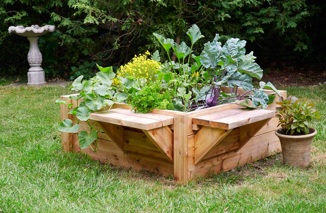 Tara Nolan Raise Bed Revolution - Building raised garden beds on Thinking Outside The Boxwood